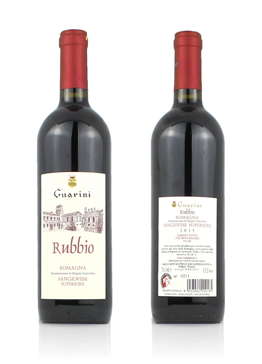 "Romagna Sangiovese Superiore ""Rubbio"" Guarini"